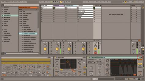 make drum pattern ableton ableton live tutorial making bass musictech