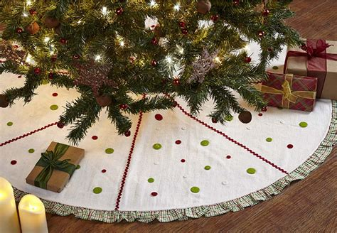 48 inch whimsical christmas tree skirt by nancy s nook