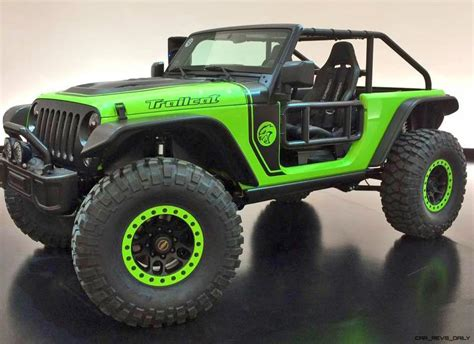 new jeep concept 7 new jeep concepts hiding among easter jeep safari