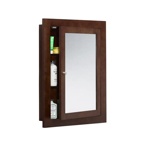solid wood framed medicine cabinet ronbow frederick 24 inch x 32 inch solid wood framed