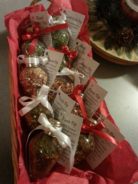dip mix ornaments great gift   easy