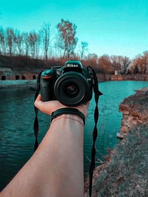 stock photo  blur camera close
