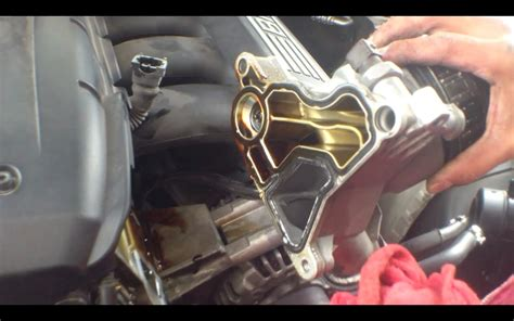 n54 oil filter housing gasket diy your oil filter housing gasket is leaking change on a bmw x5 e70 n54 engine parts