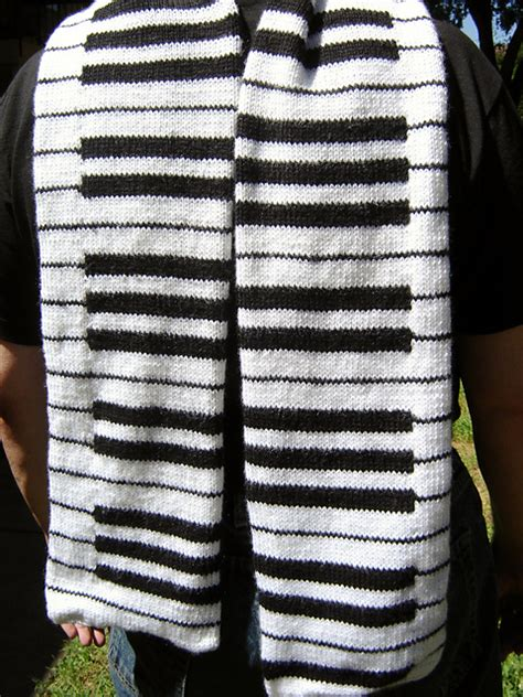 knitting pattern piano scarf knitting love 3kcbwday5 play me a song mr piano man