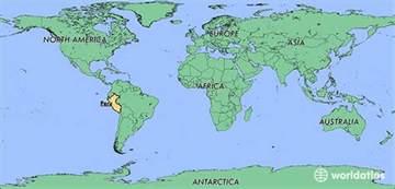 Peru World Map by Where Is Peru Where Is Peru Located In The World