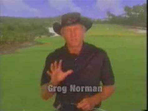 greg norman golf swing greg norman golf swing skin cancer awareness youtube