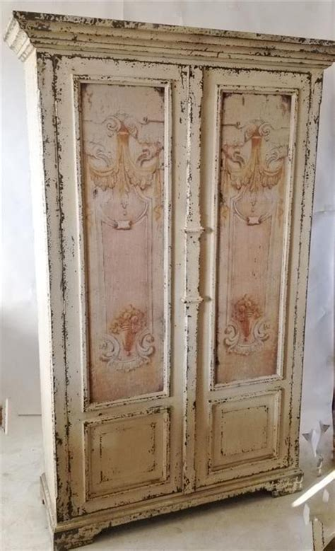 shabby chic armoire pin by pam pahl on my items for sale pinterest