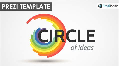 Circle Of Ideas Prezi Template Prezibase Prezi Template Ideas