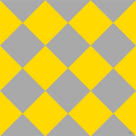 yellow gray pattern dark gray and school bus yellow checkers chequered
