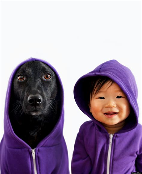 babies and dogs rescue and baby besties take the world by