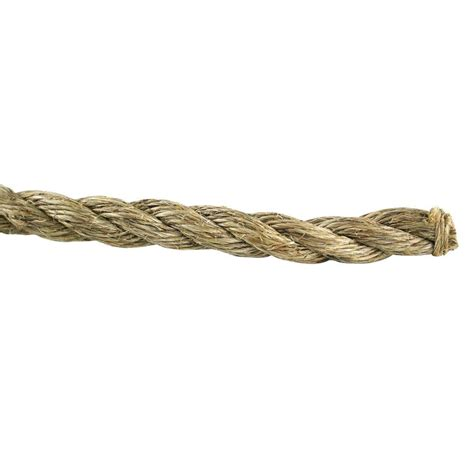 everbilt 5 8 in x 200 ft twisted manila rope