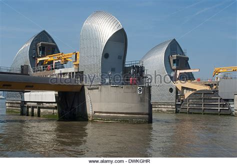 thames barrier woolwich woolwich london stock photos woolwich london stock