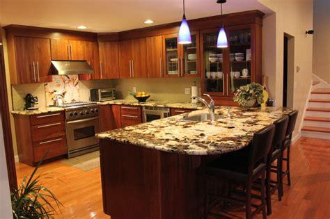 Eat At Kitchen Islands capstone granite