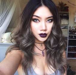 black grey hair black to grey ombre beauty pinterest protective