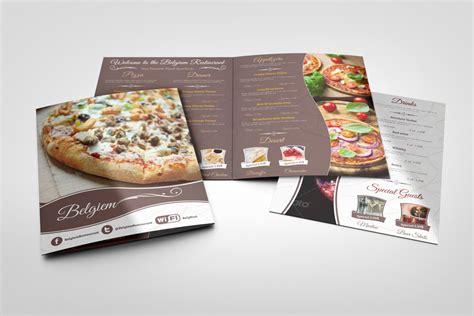 menu design mockup restaurant menu mock ups graphicriver