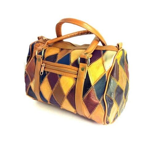 Patchwork Leather Handbags - leather handbags patchwork leather handbag exporter from