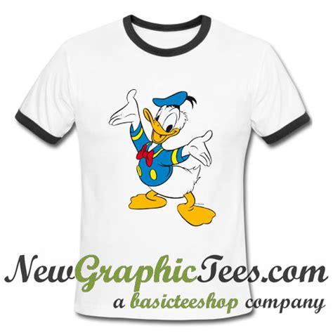 ordinal raglan donald duck 05 donald duck ringer shirt