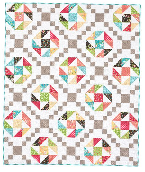 Nine Patch Quilt by Pieced Brain Nine Patch Quilts