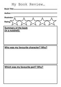 book template ks1 book review template by sibrooks teaching resources tes