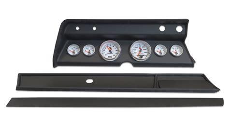 Ct 66 Dash Rockman Dash 1966 chevelle 6 panel black with auto meter c2 gauges