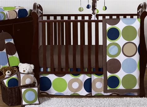 Designer Crib Sheets by Designer Dot Modern Baby Boys Bedding By Sweet Jojo