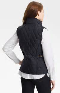 Barbour Quilted Gilet by Barbour Summer Liddesdale Gilet Vest In Blue Lyst