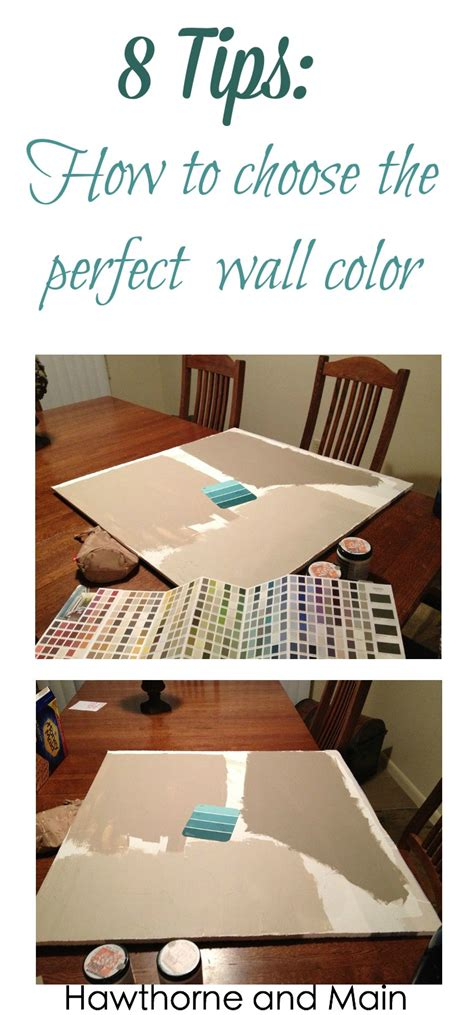 choosing a paint color 8 tips on choosing the perfect wall color page 2 of 2