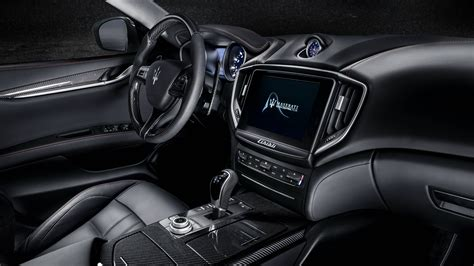 2018 maserati ghibli gransport 4k interior wallpaper hd