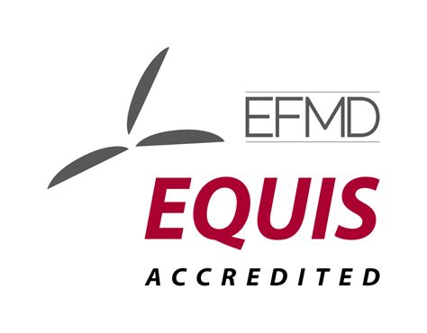 Mba Accreditation Wiki by File Efmd Equis Accredited Svg Wikimedia Commons
