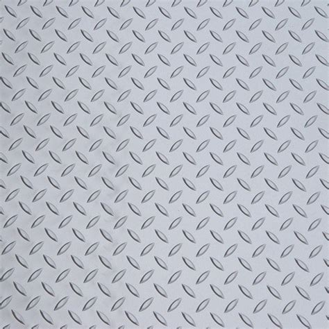 Diamond Deck Metallic Silver 5 ft. x 9 ft. Golf Cart Mat