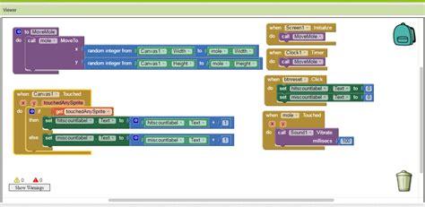 modul membuat storyboard modul 3 membuat aplikasi pukul tikus di app inventor 2