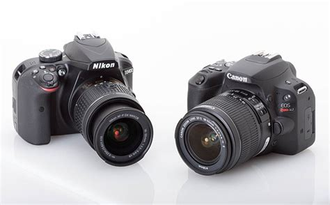 nikon rebel entry level dslrs compared canon eos rebel sl2 vs nikon