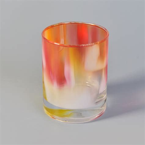 colorful candles colorful glass candle jar wholesale glass candle holders
