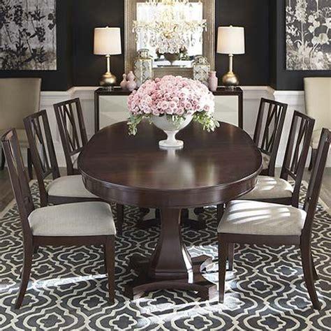 bassett esszimmer presidio oval dining table by bassett furniture dining