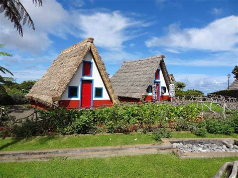 madeira cottages panoramio photo of the palheiros traditional thatched
