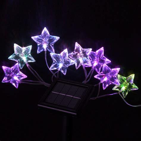 star shaped solar string lights solar powered led light manufacturer and supplier shenchuang