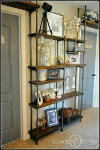 industrial looking shelves remodelaholic build a budget friendly industrial shelf