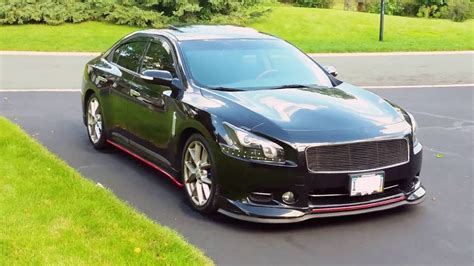 custom nissan maxima 2010 famous black and red custom nissan maxima 2012 youtube
