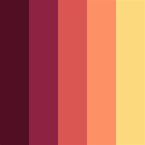 flat color flat ui color swatches aco autumn edition web3canvas