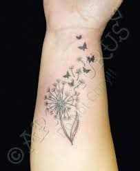 dandelion tattoo meaning yahoo butterfly kisses and dandelion wishes vinyl projects for