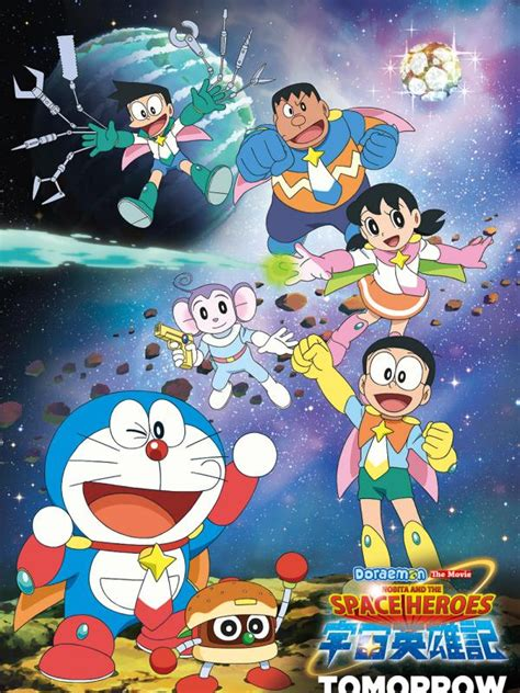 doraemon movie review gambar review doraemon movie nobita space heroes showbiz