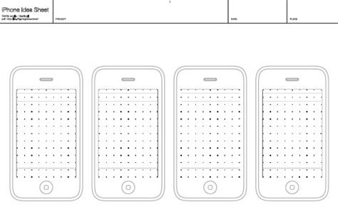 Free Printable Sketching Wireframing And Note Taking Pdf Templates Smashing Magazine Sketch App Templates