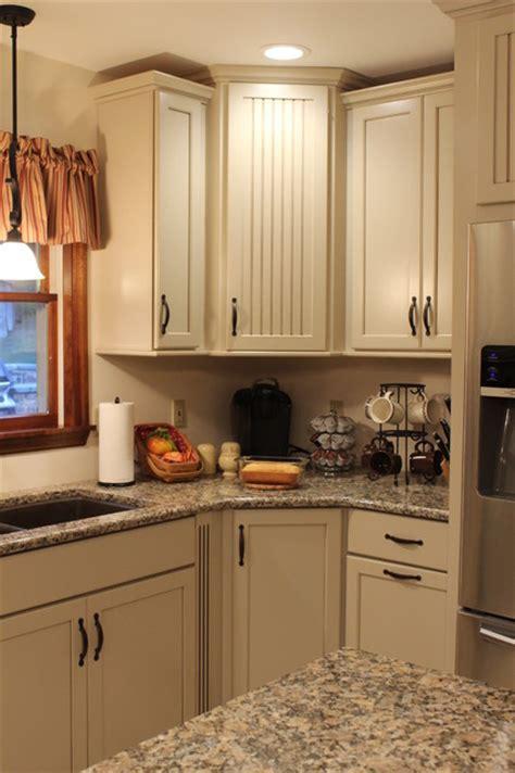 Kraftmaid Alexis/Briarwood Maple Mushroom Kitchen