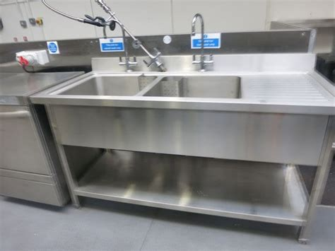 used commercial kitchen sinks for sale secondhand catering equipment double sinks