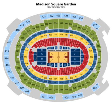 madison square garden floor plan garden seating smalltowndjs com
