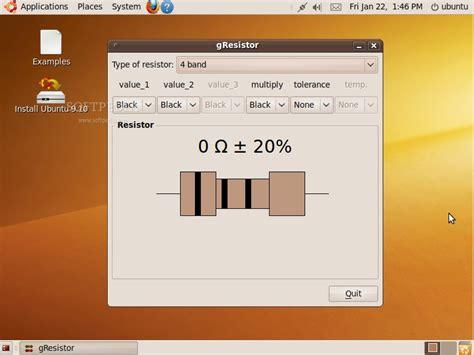 resistor calculator ubuntu fisikalinux s seorang manusia bisa pintar karena menyontek tetapi seorang manusia bisa