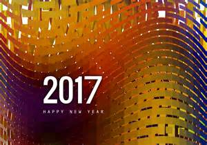 greeting card of happy new year 2017 free vector stock graphics images