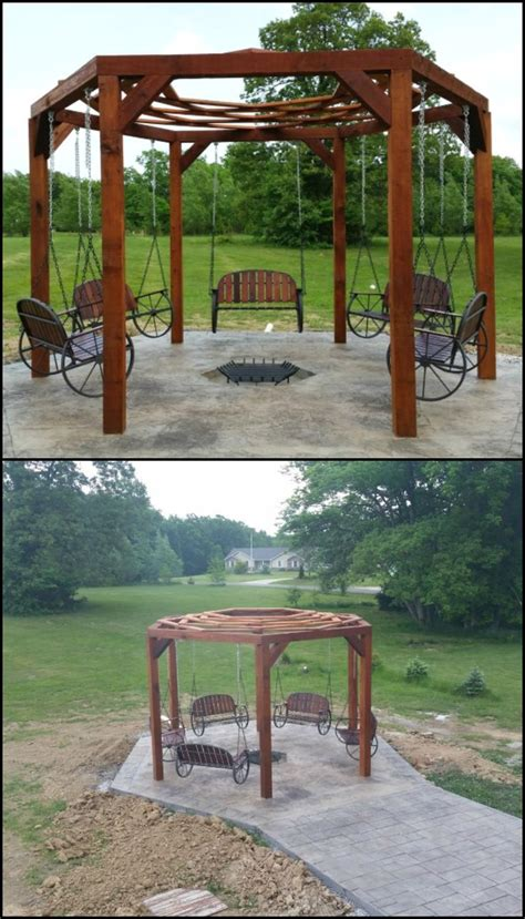 hexagon swing set 67 best images about landscaping on pinterest terraced