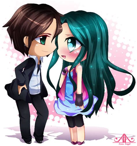 imagenes de anime i love you imagenes anime love chibi imagui