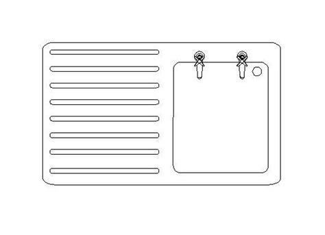 Kitchen sink CAD block   CADblocksfree  CAD blocks free